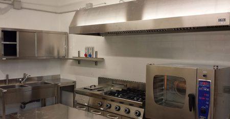 Installazione di cucine industriali
